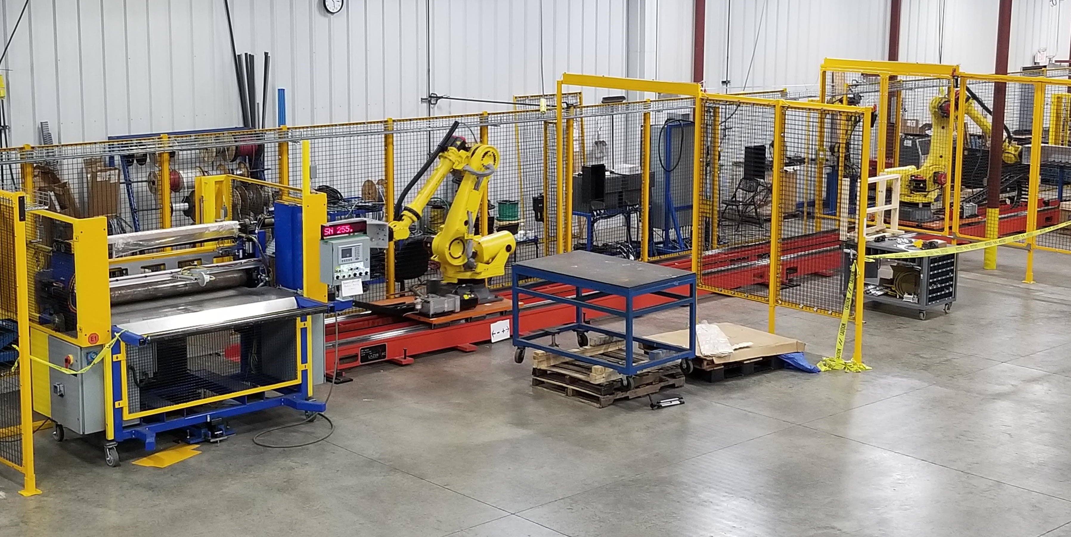 Robot Transfer Unit - RTU - for Material Handling